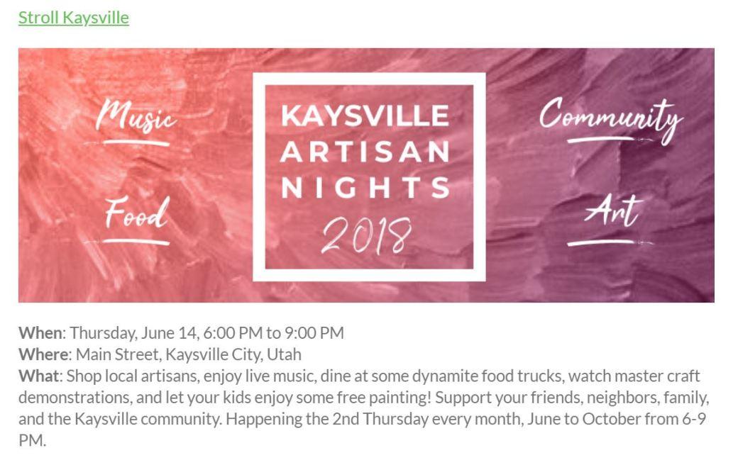Stroll Kaysville